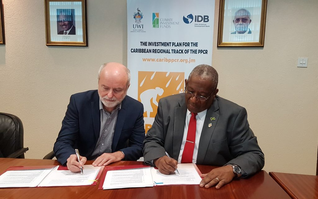 Regional PPCR Project signs US $1.9 million contract to improve availability of LIDAR data for climate planning