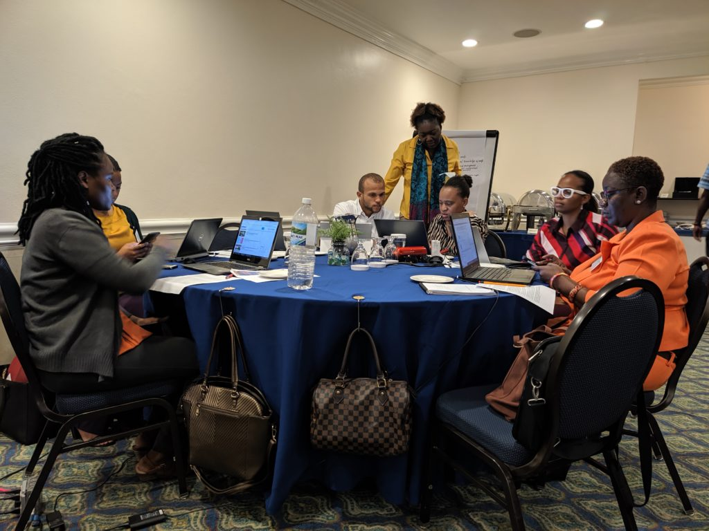 Key Jamaican Government staff benefit from training in Climate-Smart planning